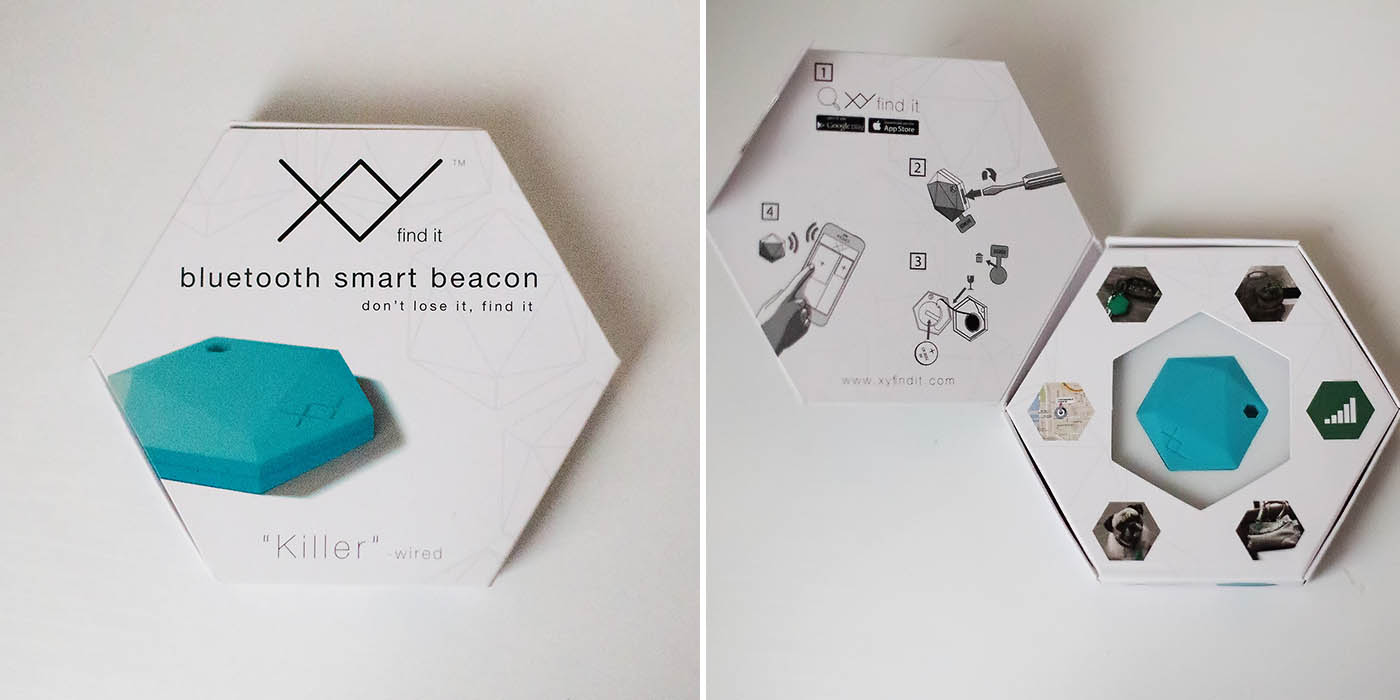 XY Find It - Bluetooth beacons that help you keep track of your stuff
