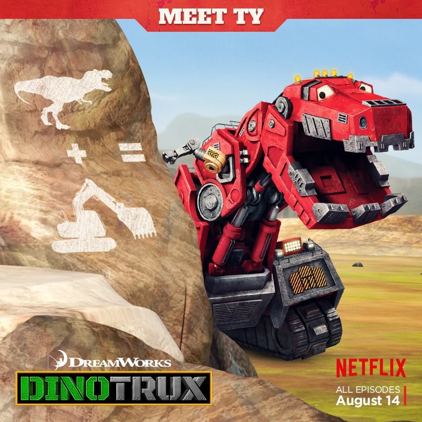 Dinotrux - coming to Netflix August 2015