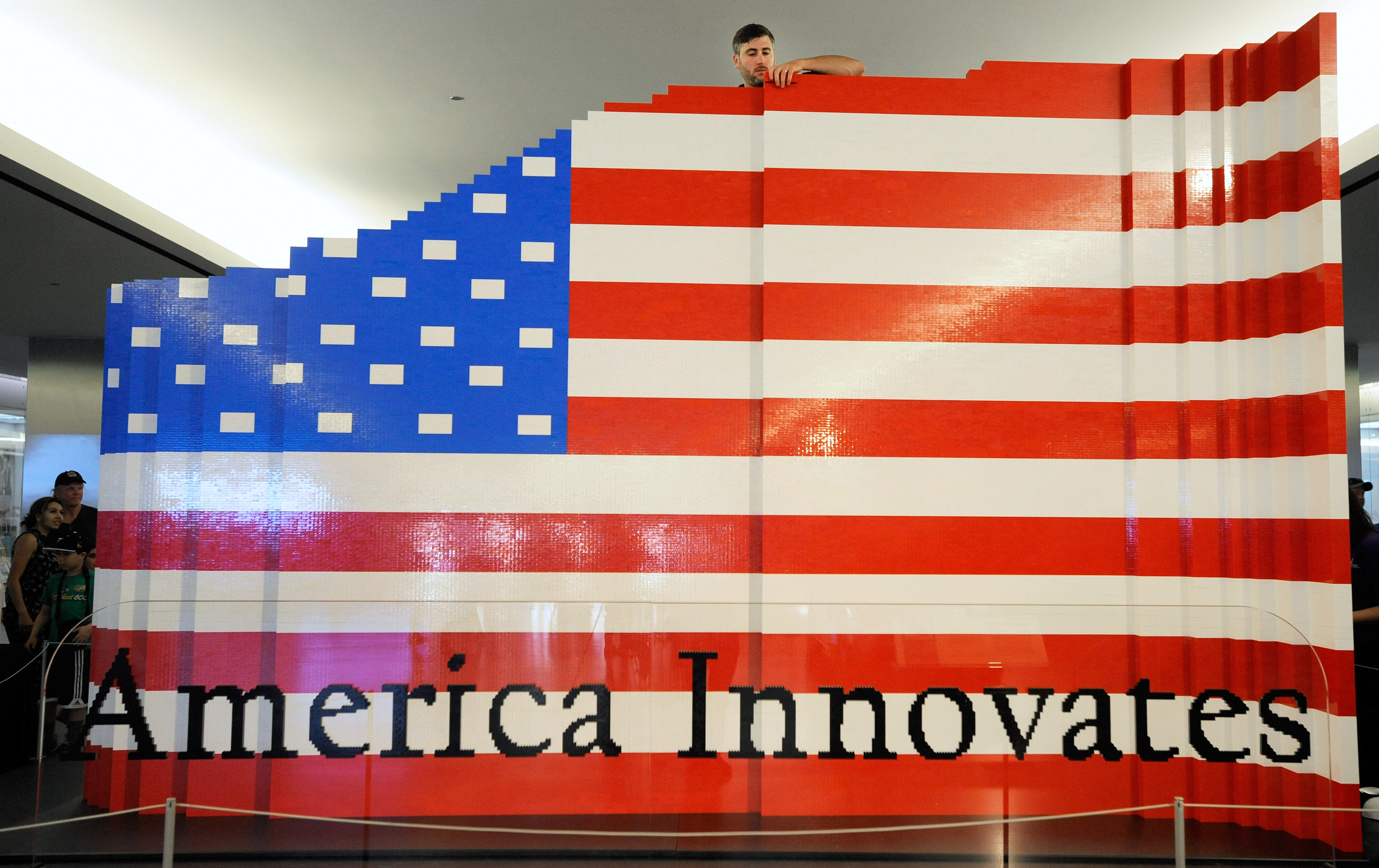 Independence day lego challenge build a flag all for for The american flag history