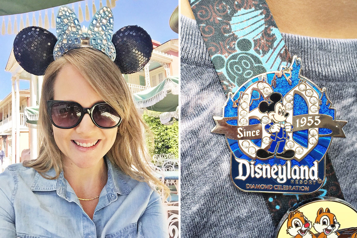 Disneyland 2015 Diamond Celebration merchandise