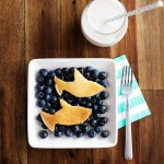Easy shark week breakfast idea