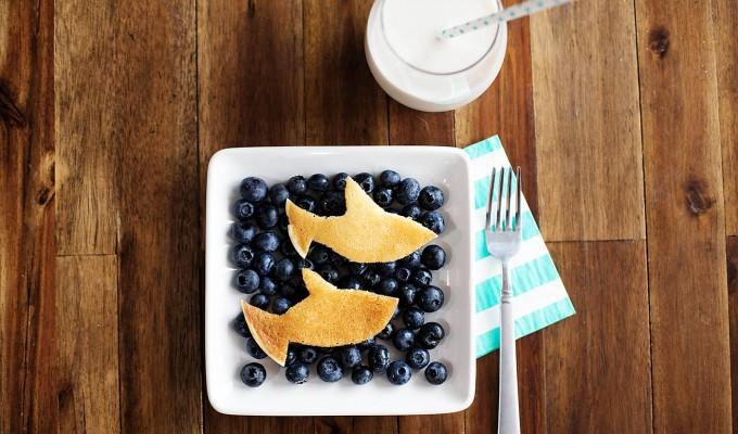Easy Shark Week Breakfast
