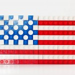 LEGO challenge - build a flag