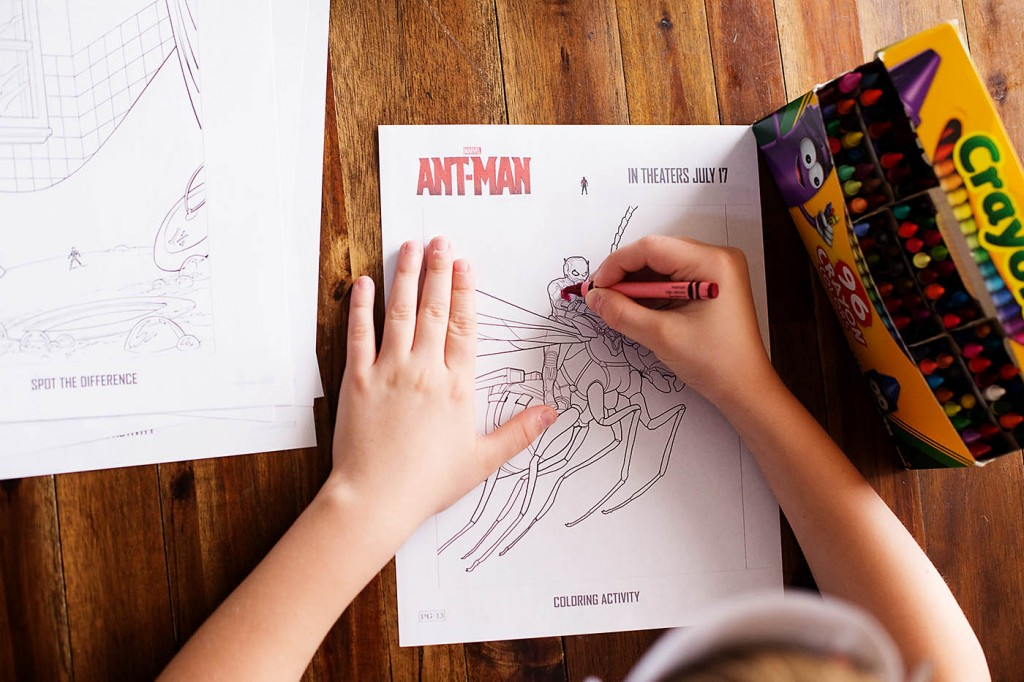 Ant Man Printable Activities & Coloring Pages