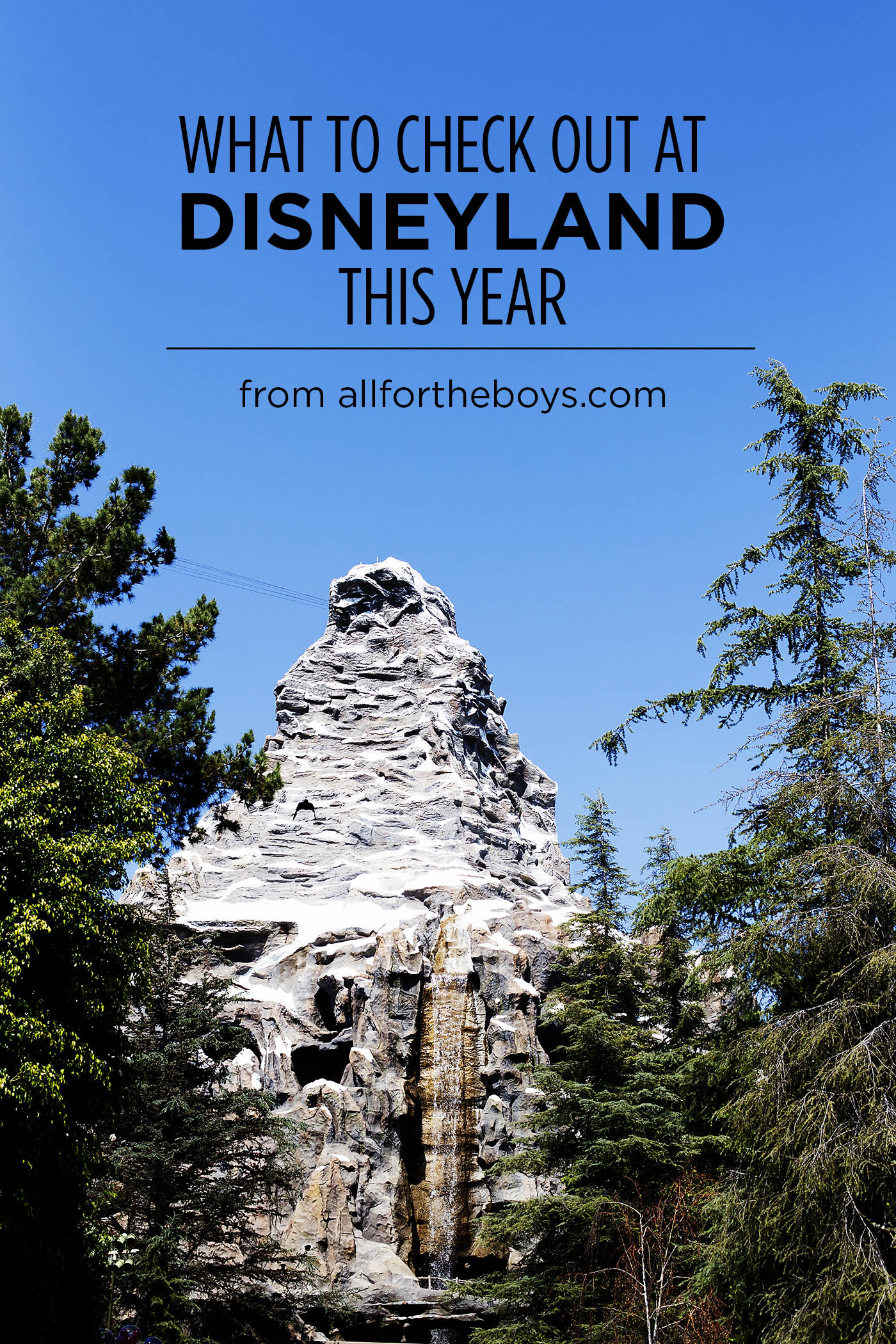 List of awesome new updates and things to check out at Disneyland this year during the Diamond Celebration!