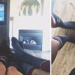 Shark Week Socks