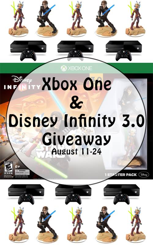 Xbox One and Disney Infinity 3.0 giveaway!