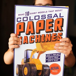 Colossal Paper Machines - fun activity book for older kids!