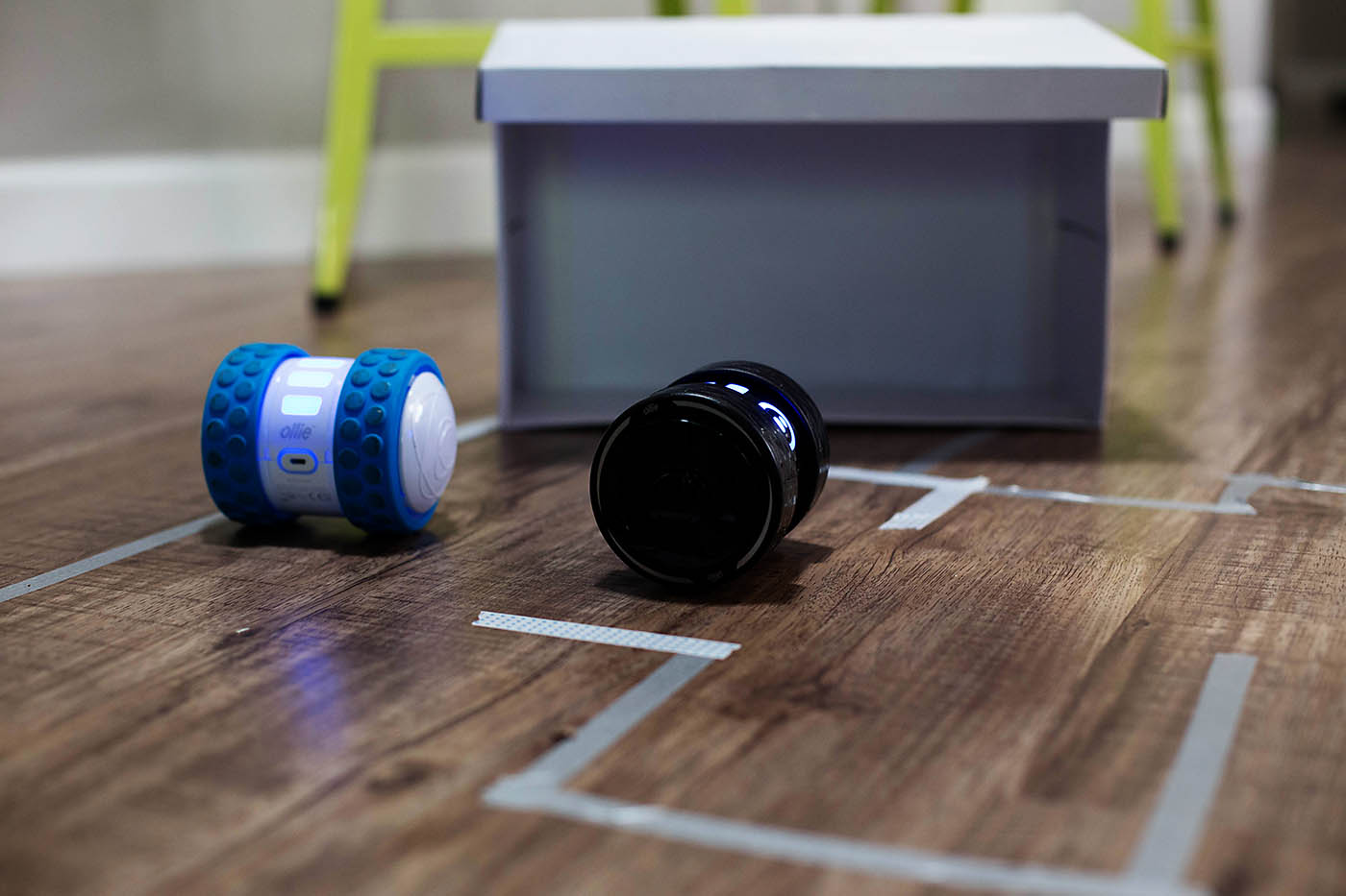 Darkside Ollie - remote control robot that you control with your phone!