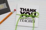 Printable Teacher Back to School Gift Card Envelope