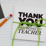 Printable gift card envelopes for teachers. Great for back to school or teacher appreciation.