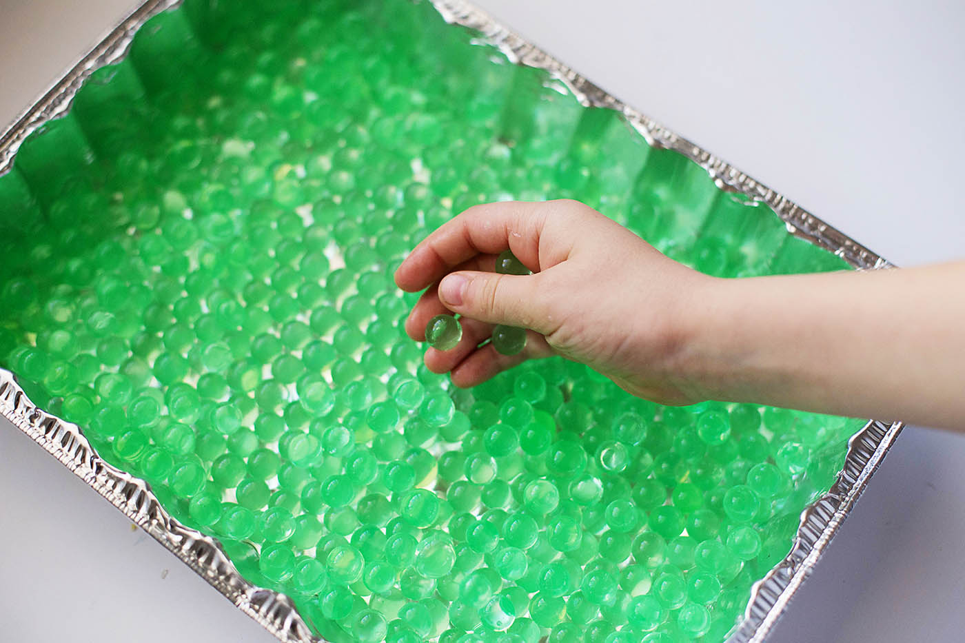 Water beads - fun for toddlers AND big kids!