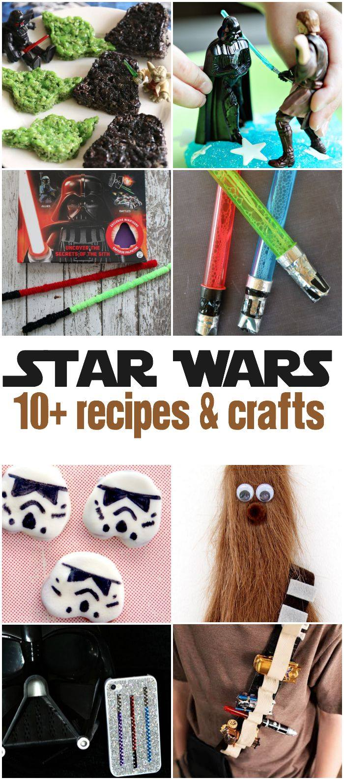 Star Wars recipe and craft ideas