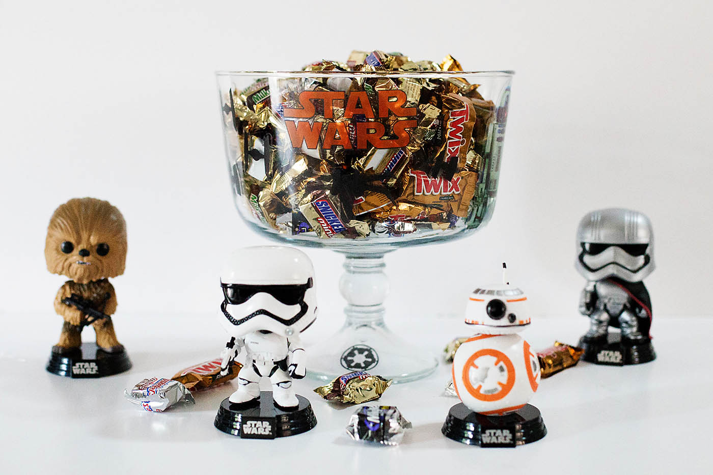 easy star wars candy bowl perfect for halloween or parties