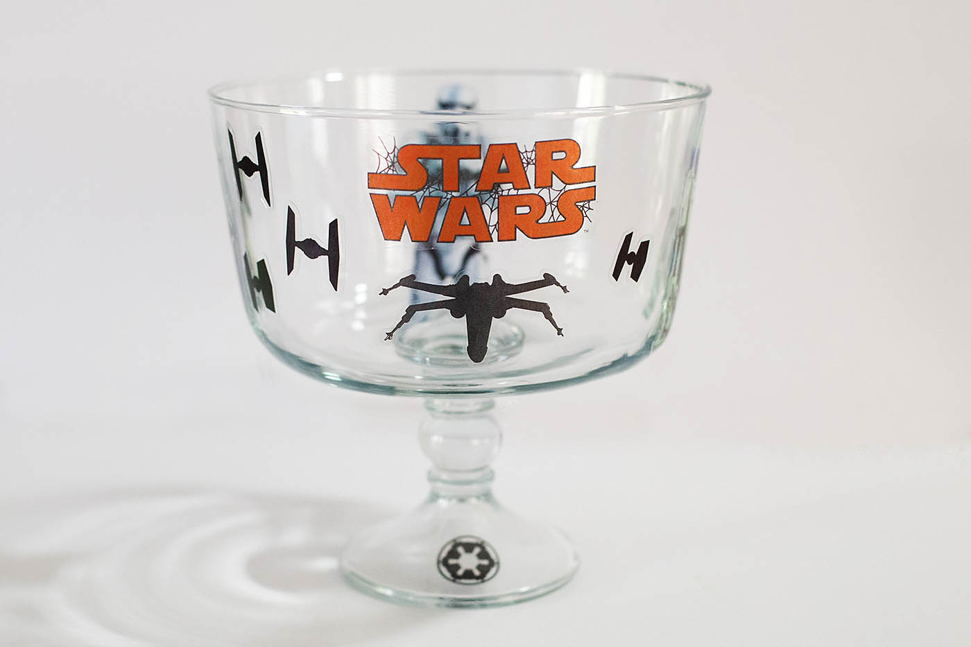 Easy Star Wars Candy Bowl - perfect for Halloween or parties.