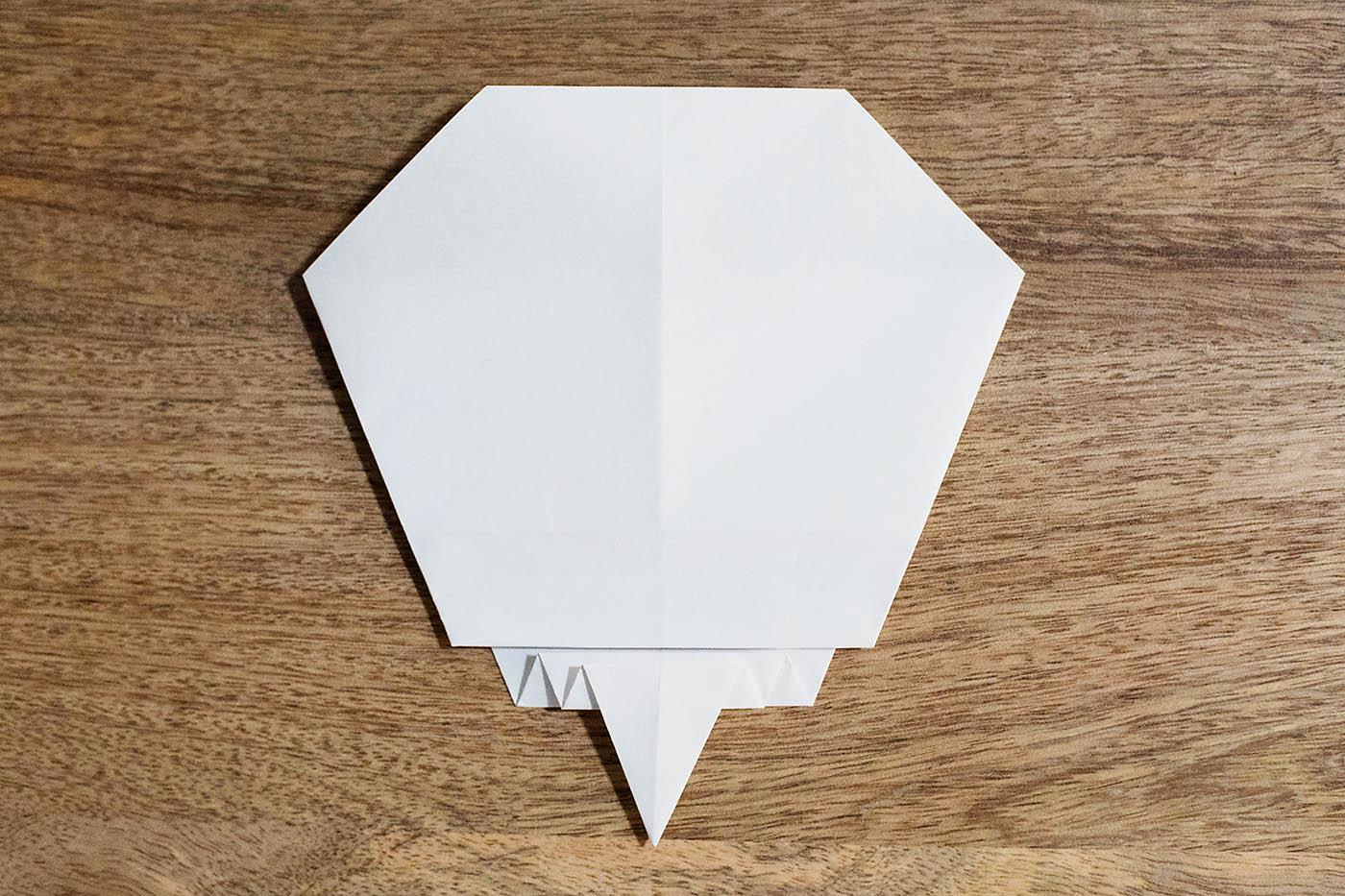 Easy Origami Skull — All for the Boys - photo#13