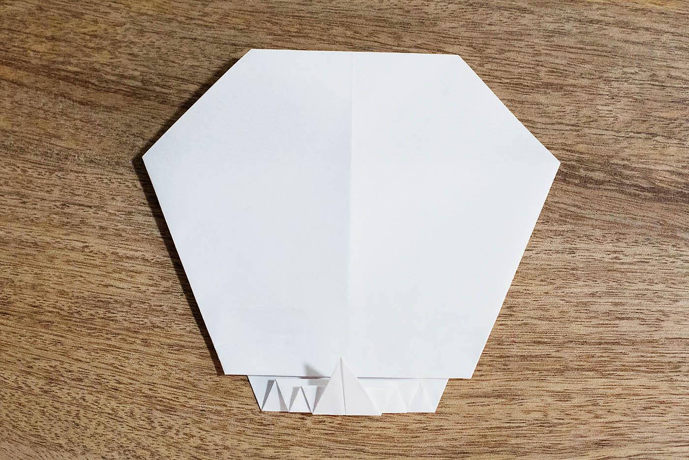 Easy Origami Skull — All for the Boys - photo#46