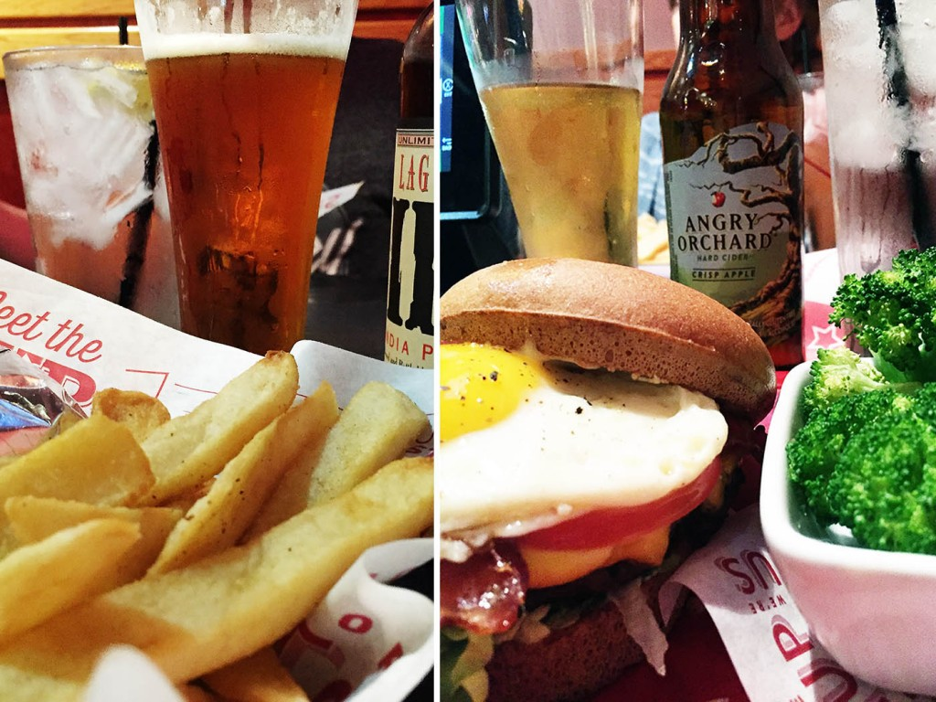 A Night Off at Red Robin + Giveaway