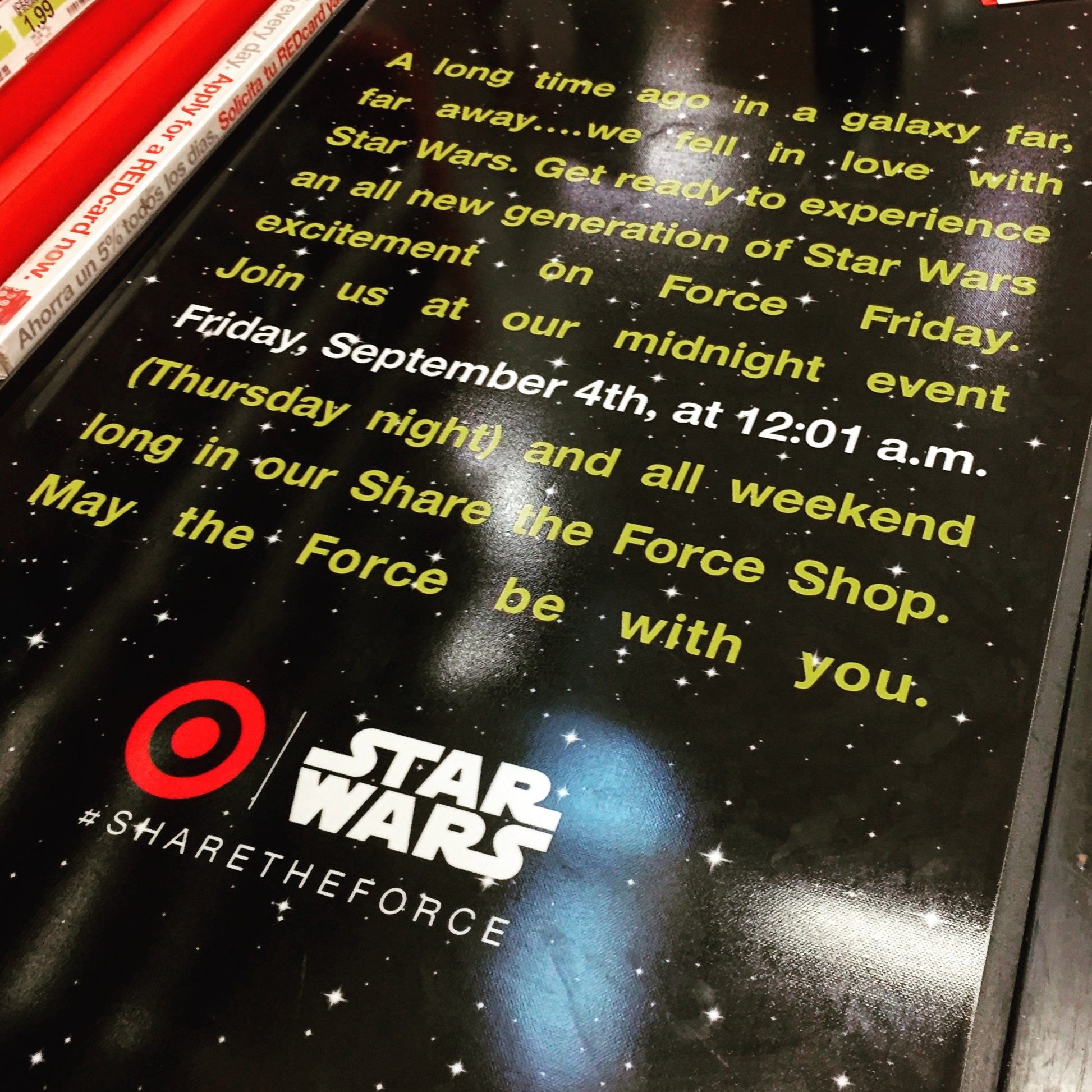 Star Wars Force Friday at Target