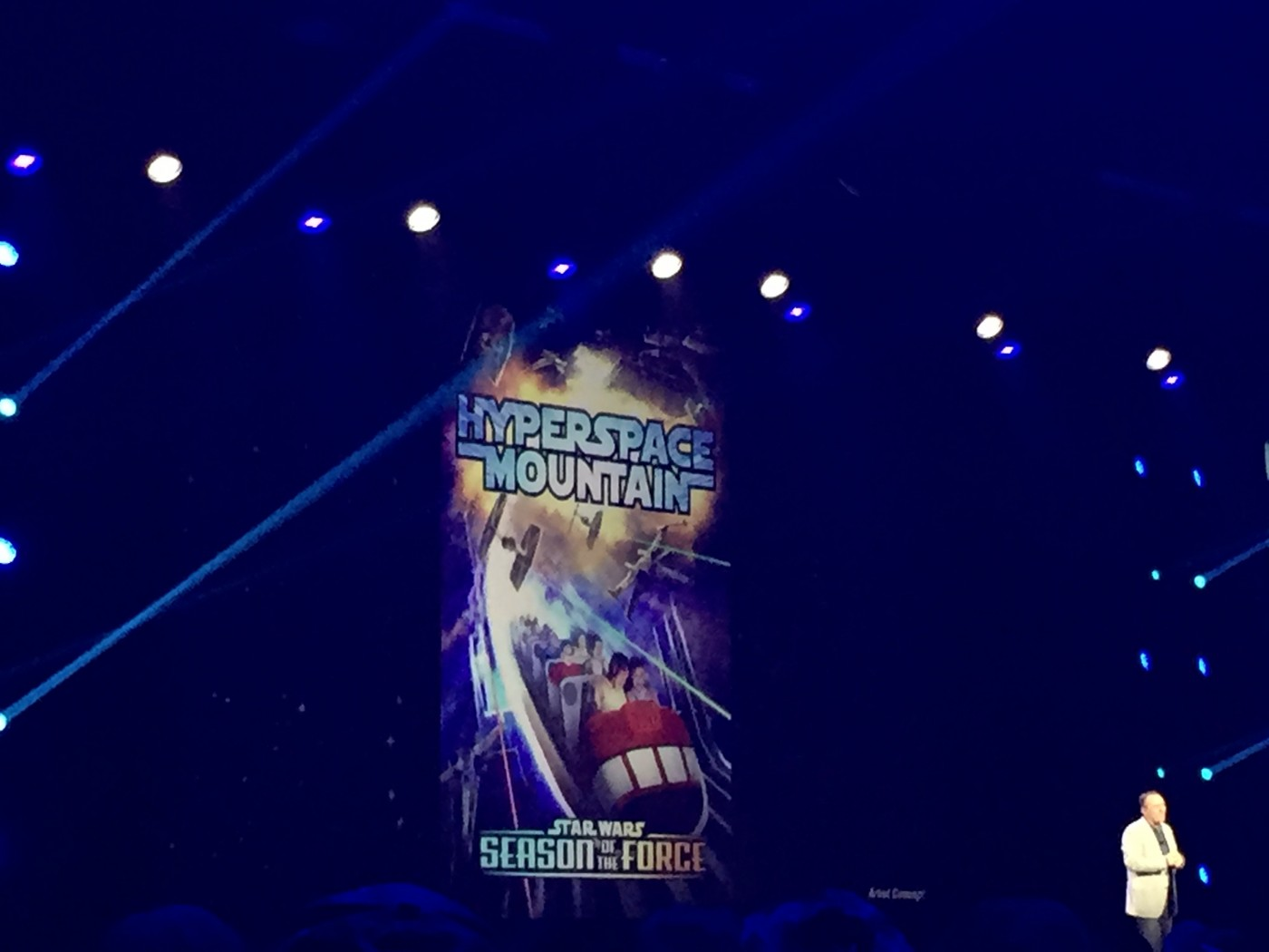 Hyperspace Mountain announced at D23 Expo