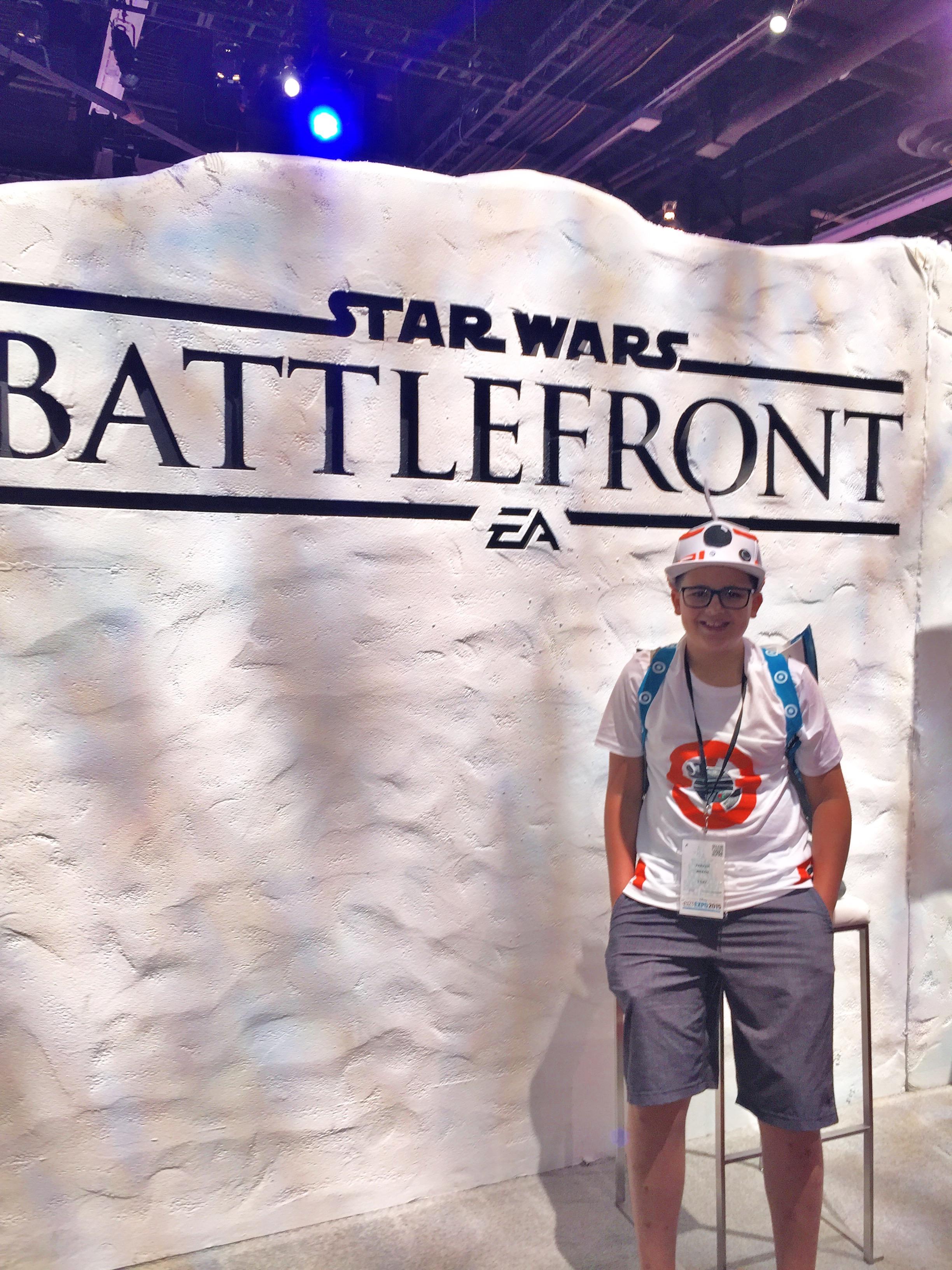 Star Wars BattleFront at D23