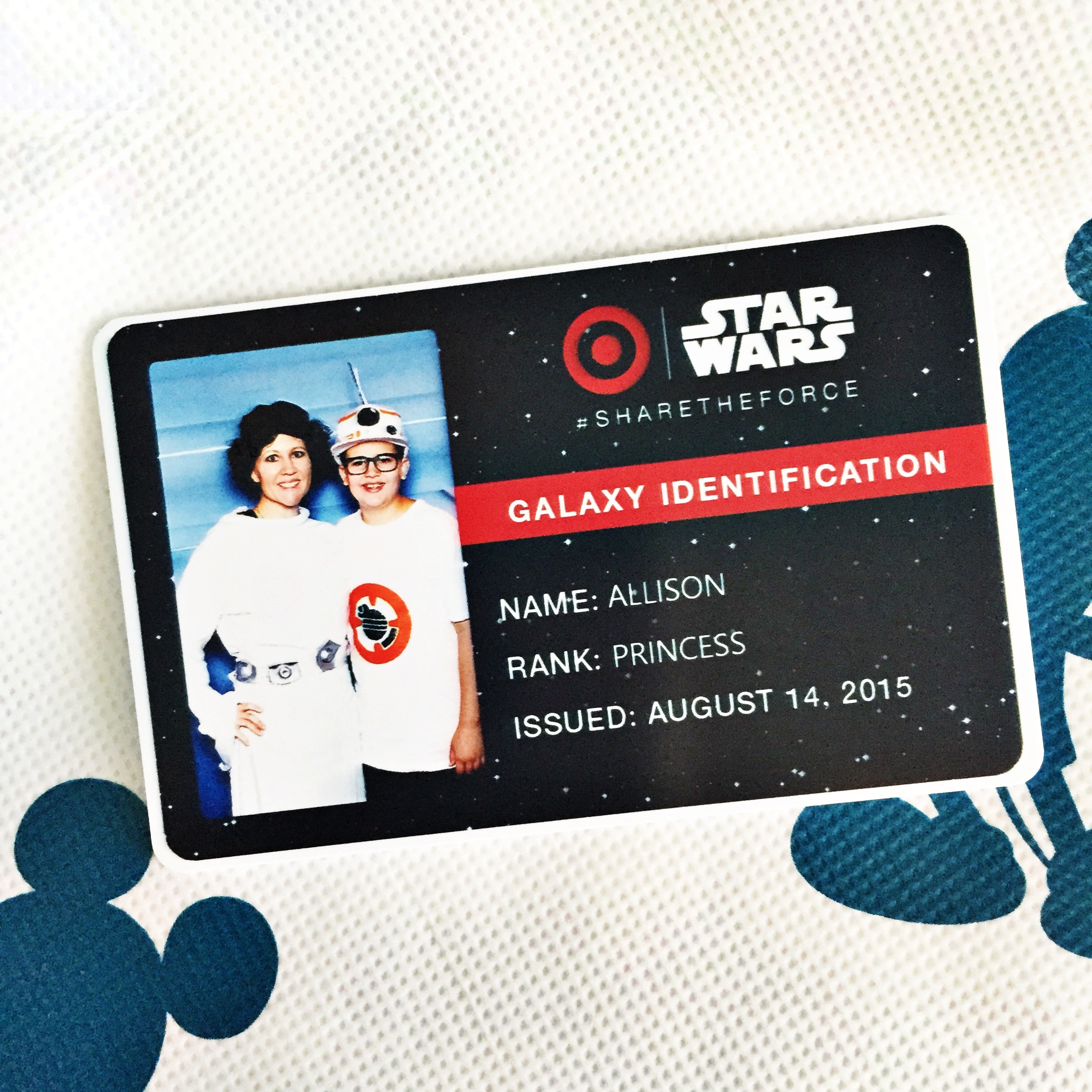 Star Wars and Target #sharetheforce at D23 Expo
