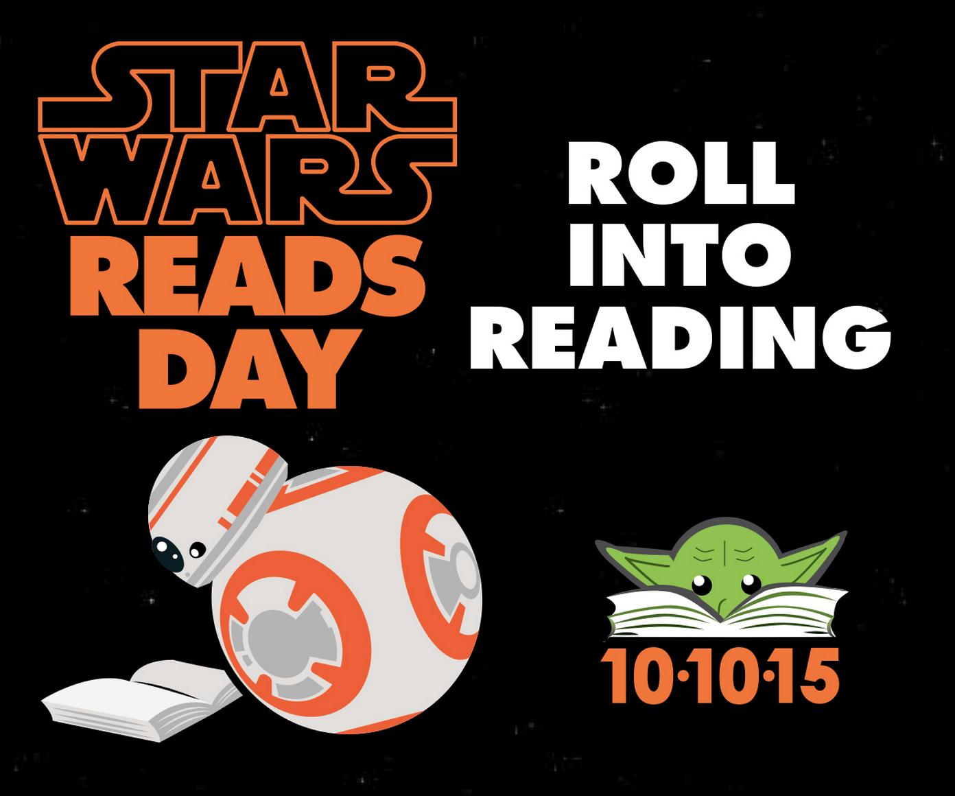 Star Wars Day: Star Wars Reads Day!