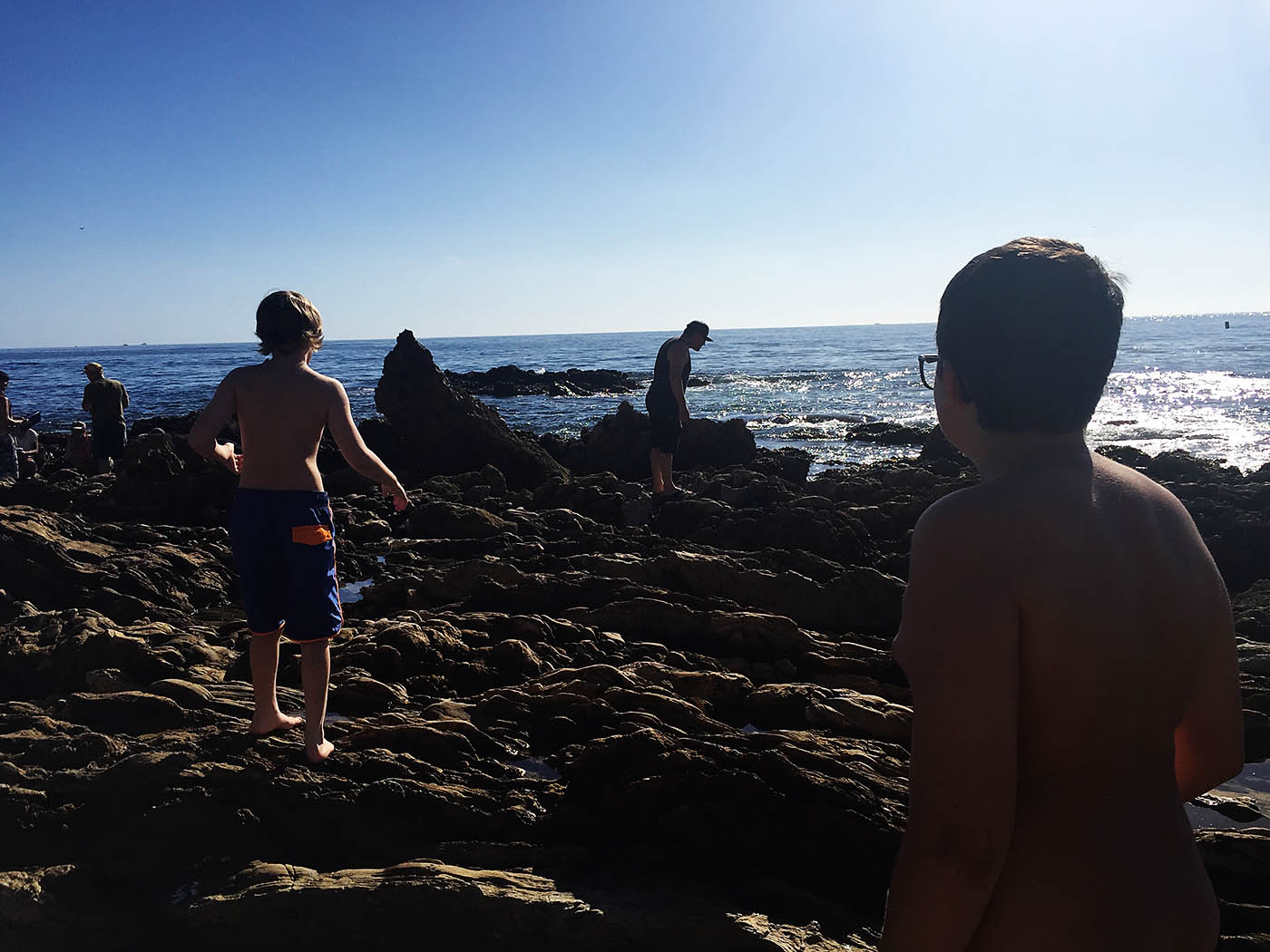 Tide pools at Little Corona Del Mar in southern California