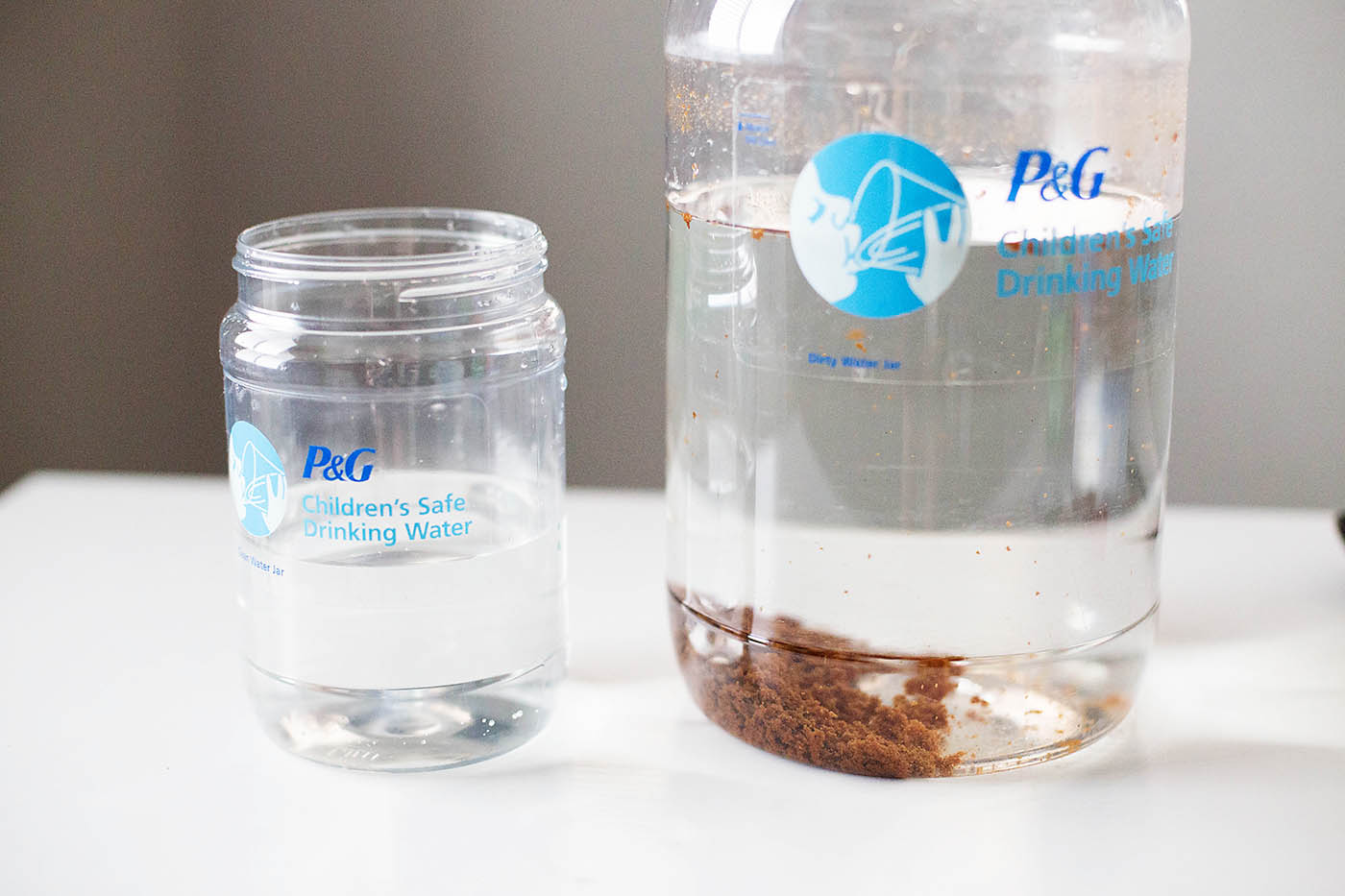 Help get safe drinking water to families who need it with P&G