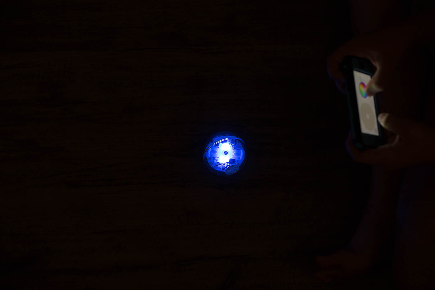 Sphero SPRK - a coding robot that you can see through!