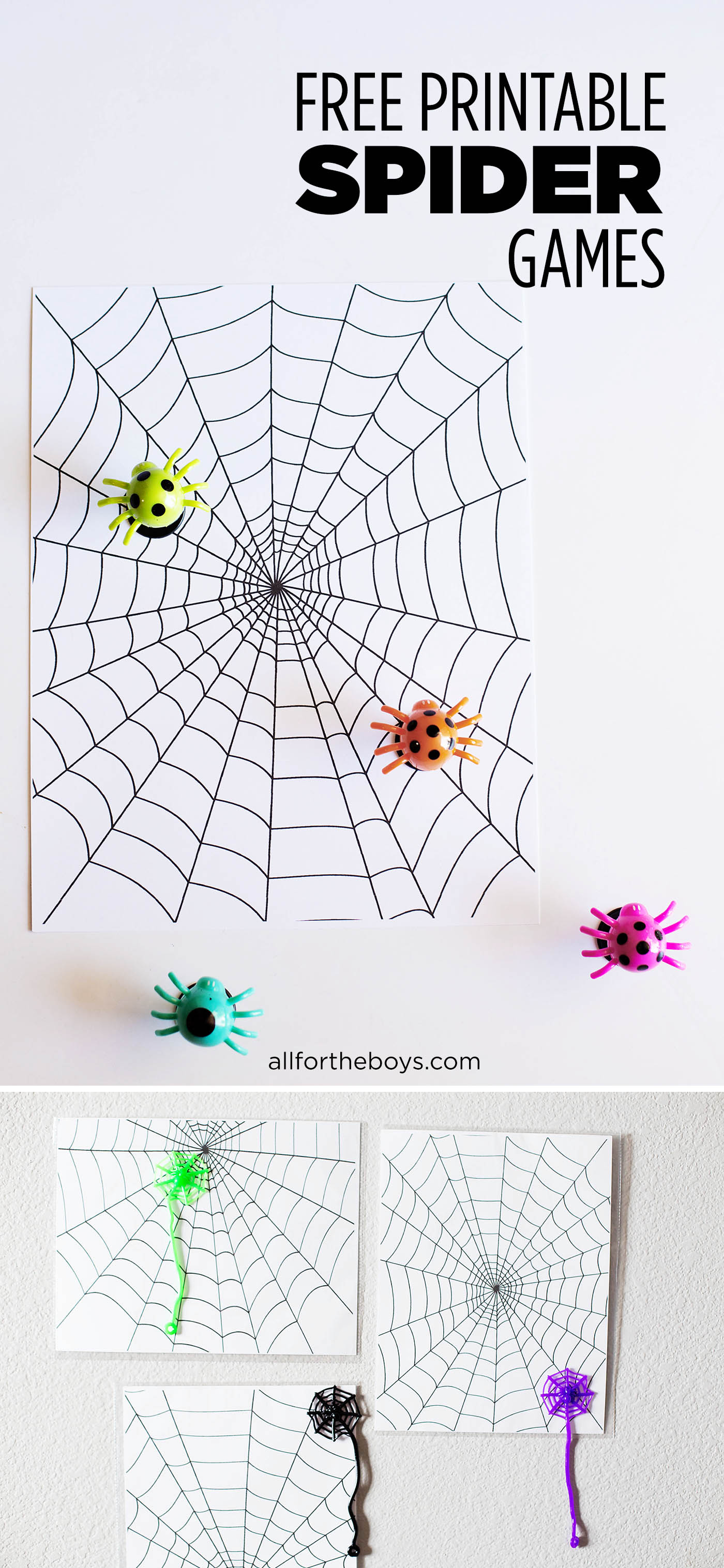 Uncategorized Fun Printable Games printable spider games all for the boys free fun a halloween party or just to play fun