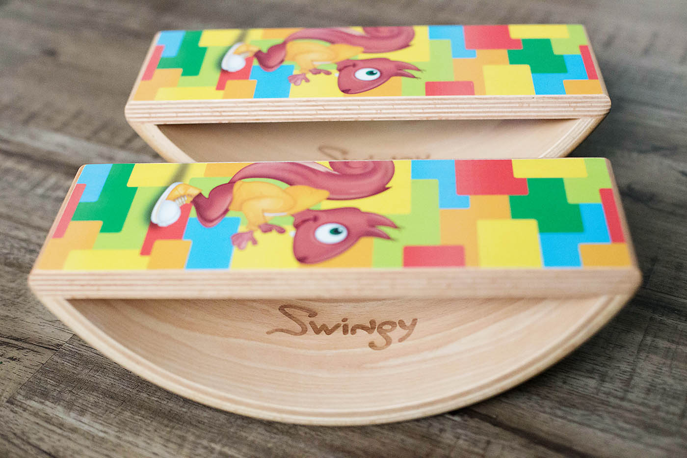 Swingy - digital game and balance board!