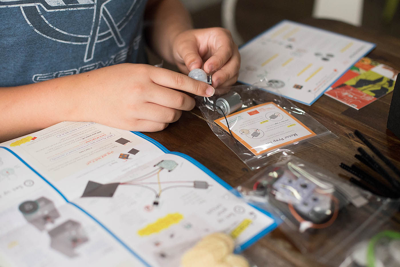 Tinker Crate and FamilyFun spider prank kit!