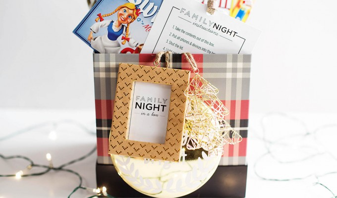 Easy DIY Family Night Gift Box