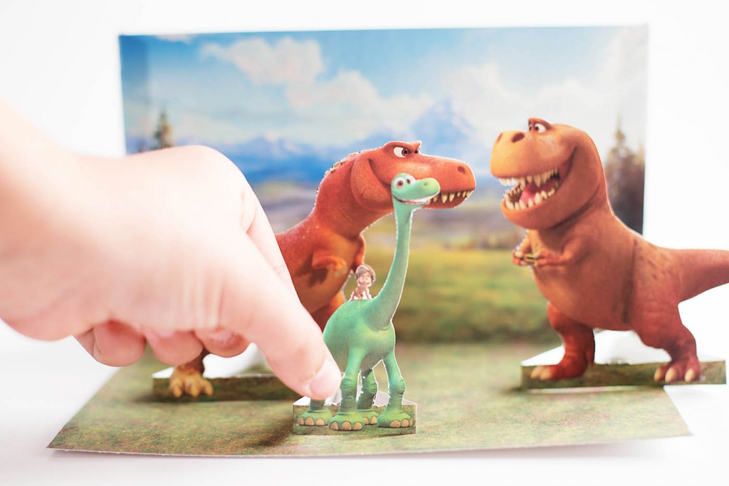 The Good Dinosaur Free Printable Playset & Game