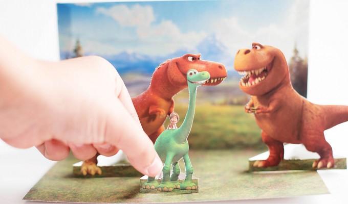 The Good Dinosaur Free Printable Playset & Game