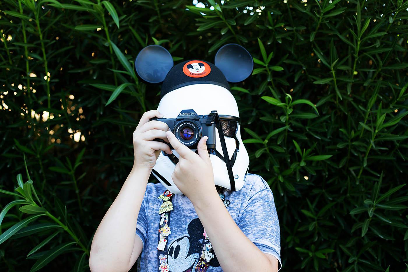 Storm Trooper going to Disneyland