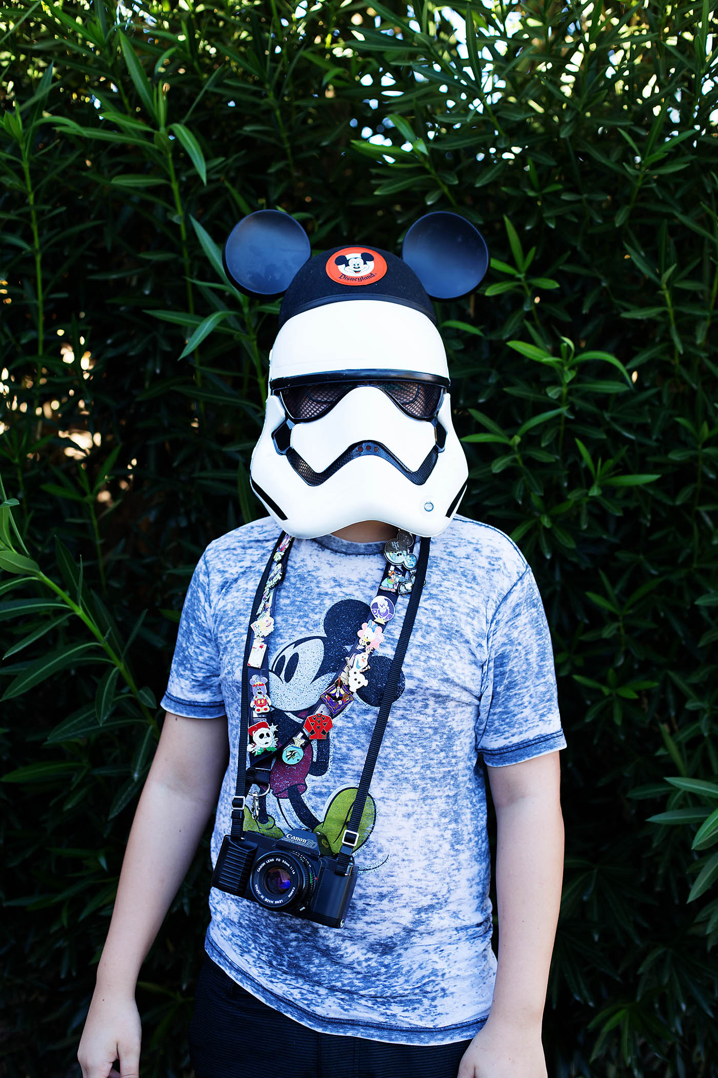Storm Trooper going to Disneyland