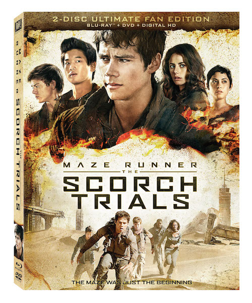Maze Runner: The Scorch Trials Giveaway