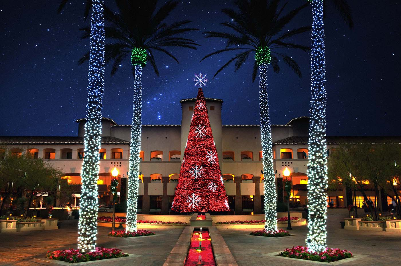 Christmas at the fairmont scottsdale princess all for for American christmas decorations
