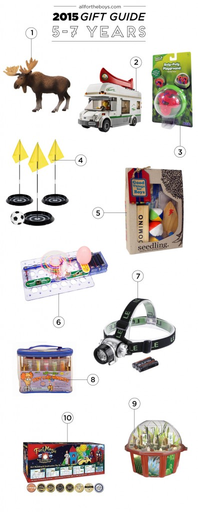 2015 Gift Guide – 5 – 7 Year Olds