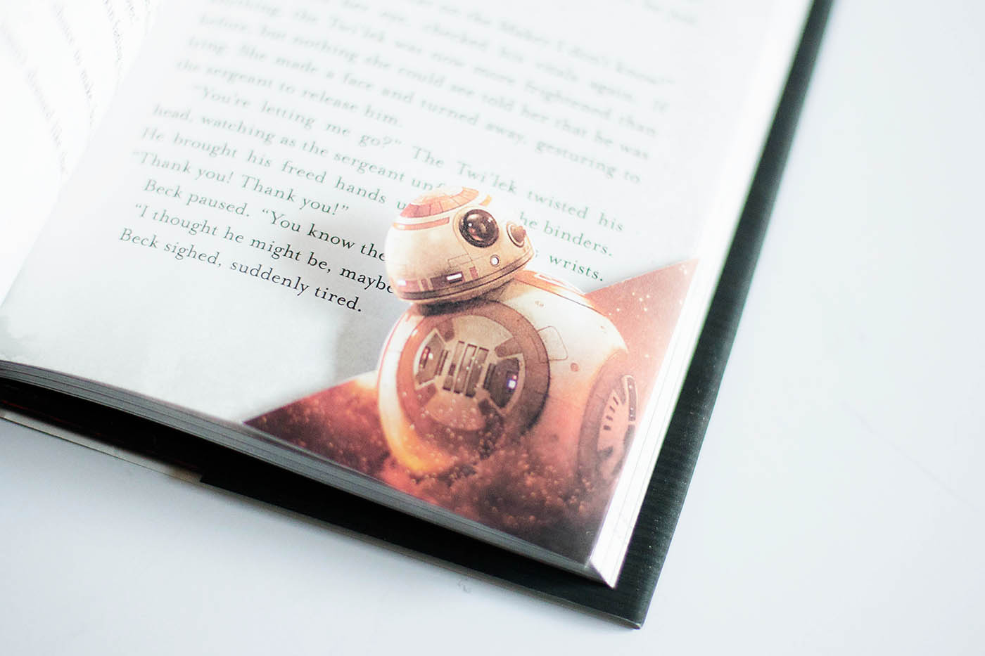 graphic regarding Star Wars Bookmark Printable titled Absolutely free Printable Star Wars BB-8 Bookmark All for the Boys