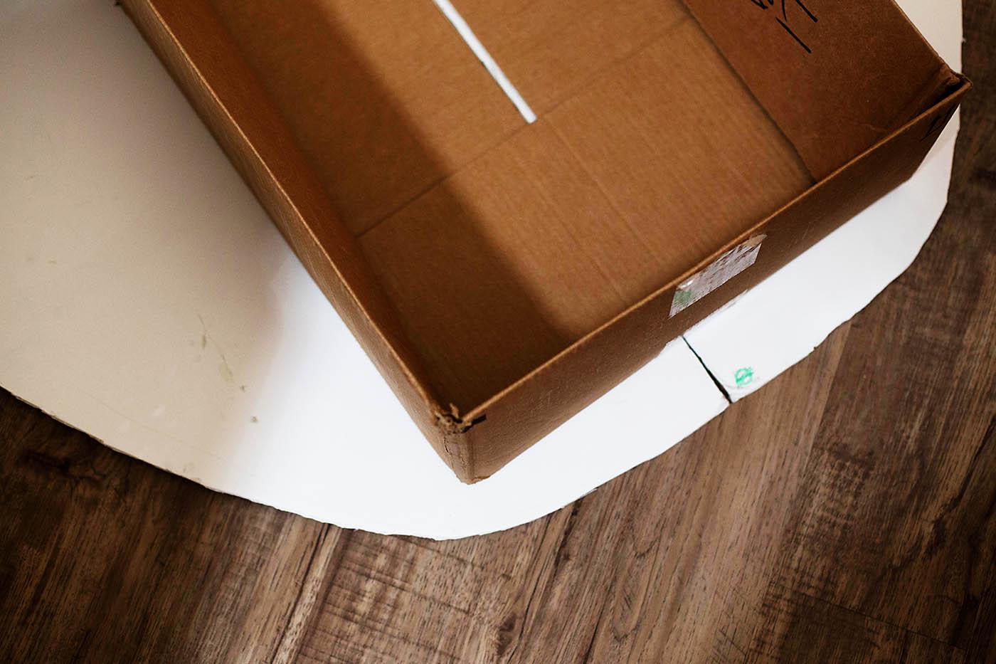 How to build a cardboard Millennium Falcon