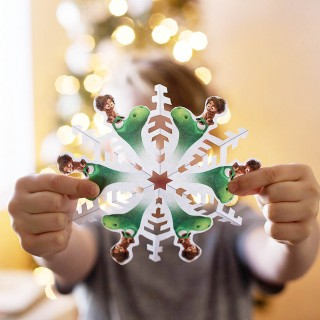 The Good Dinosaur Snowflake, Origami and Advent Calendar!