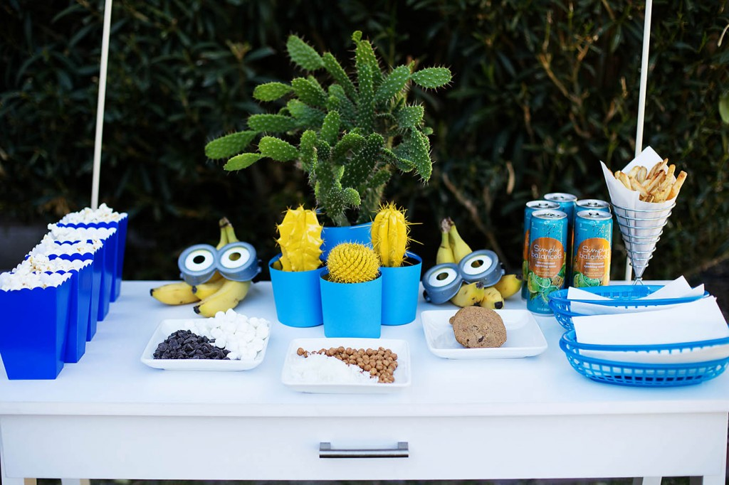 Minions Outdoor Movie Night Party