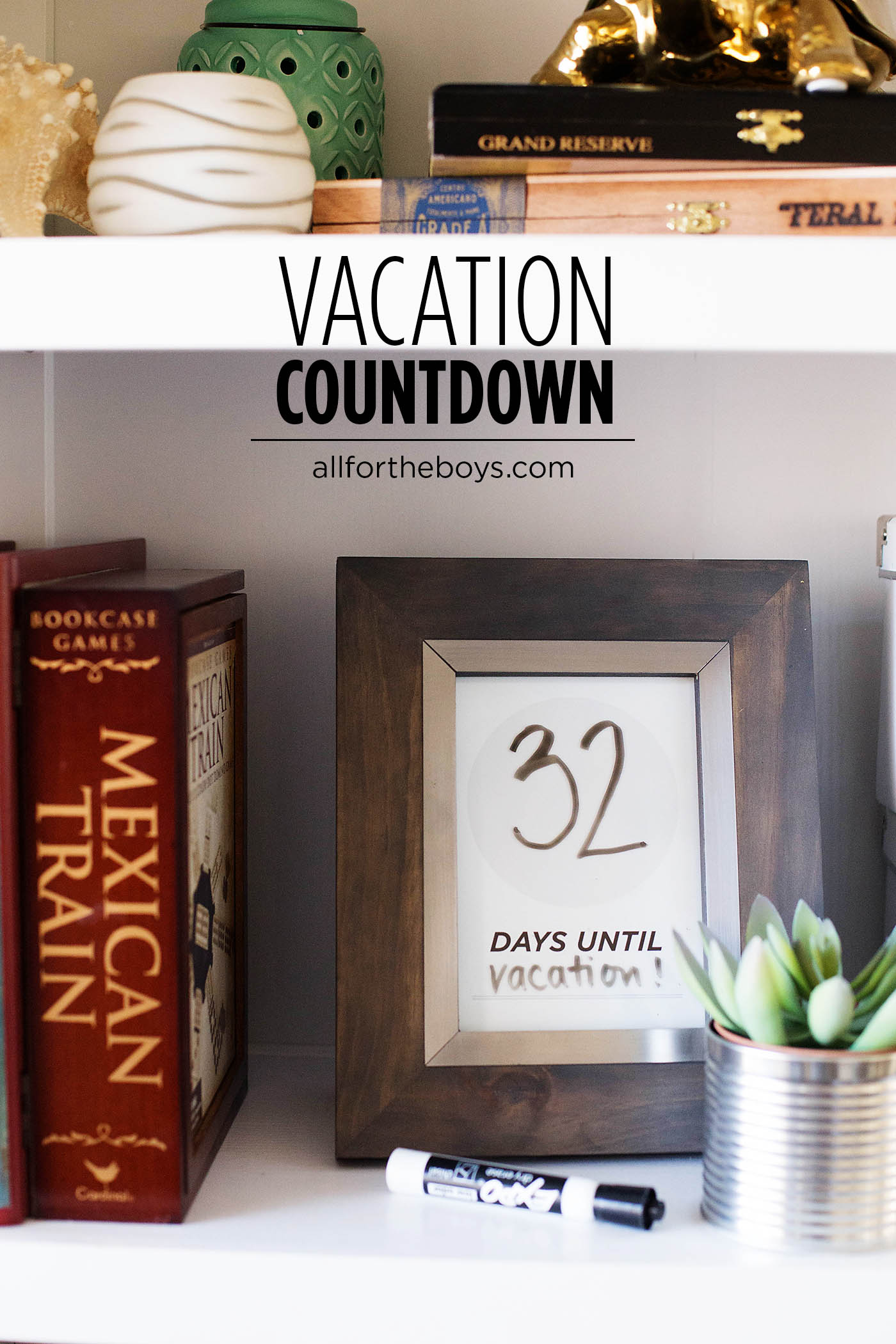 Printable vacation or travel countdown - perfect for your next adventure wherever it may lead you!