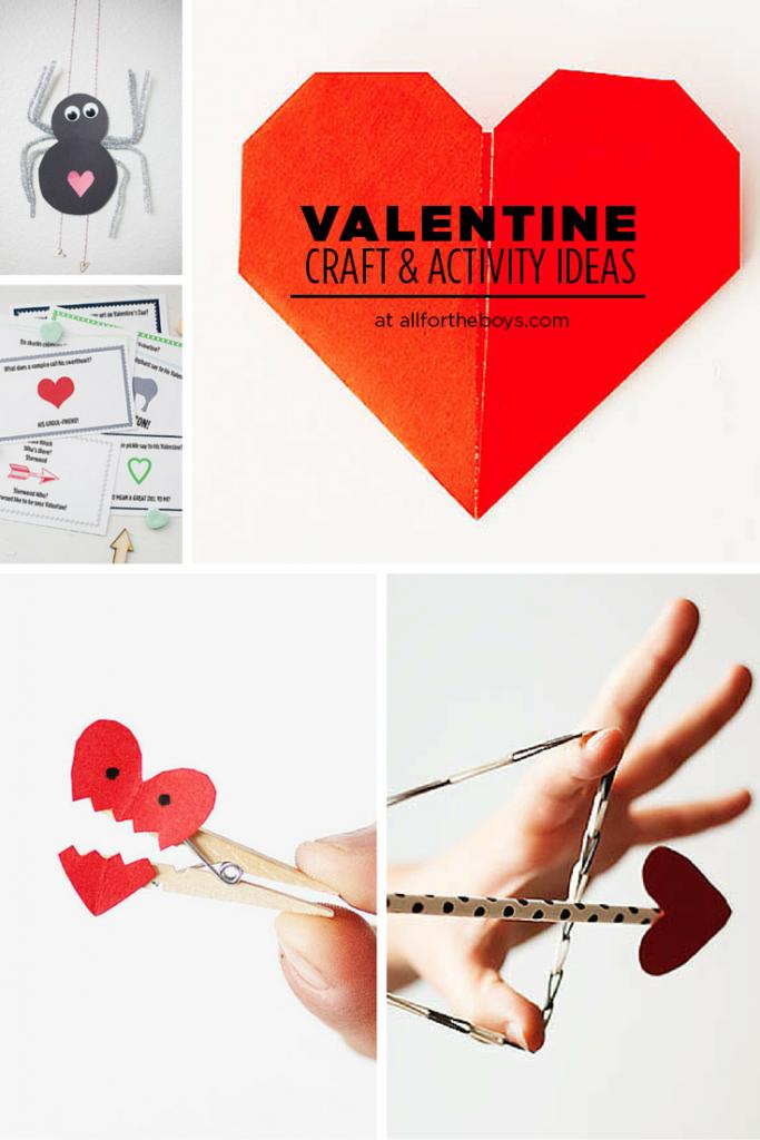 Valentine Crafts & Activity Ideas