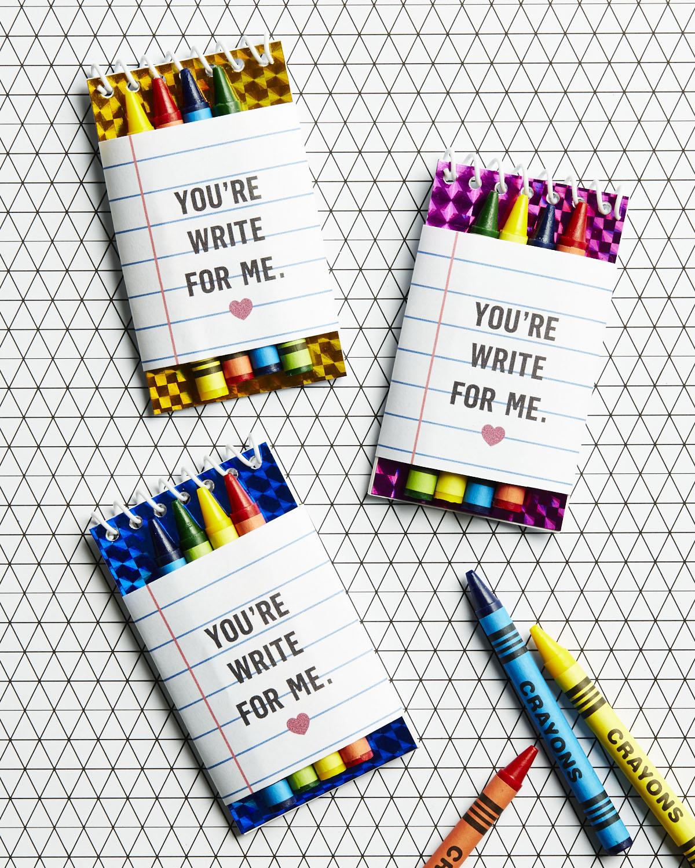 Crayon Valentine Printable