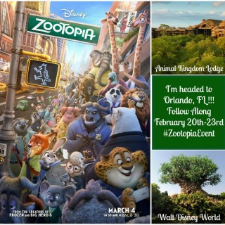 Walt Disney World Here I Come! #ZootopiaEvent