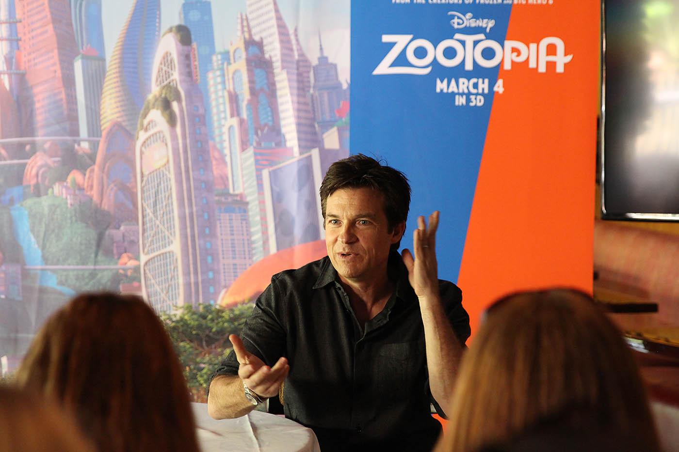 Jason Bateman Zootopia Blogger interview